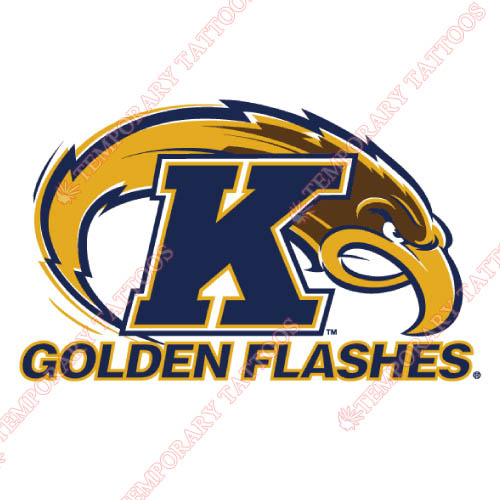 Kent State Golden Flashes Customize Temporary Tattoos Stickers NO.4738