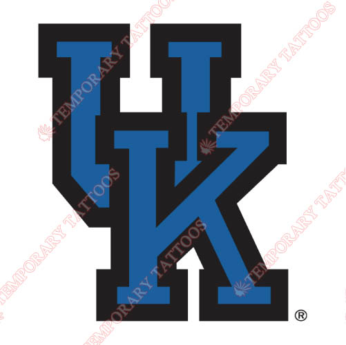 Kentucky Wildcats Customize Temporary Tattoos Stickers NO.4742