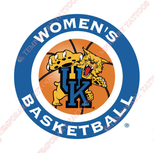 Kentucky Wildcats Customize Temporary Tattoos Stickers NO.4743