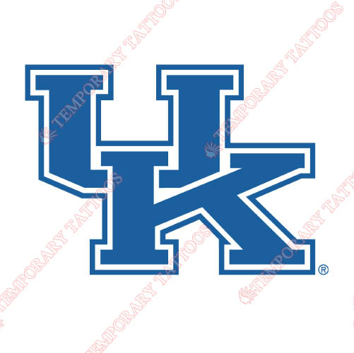 Kentucky Wildcats Customize Temporary Tattoos Stickers NO.4744