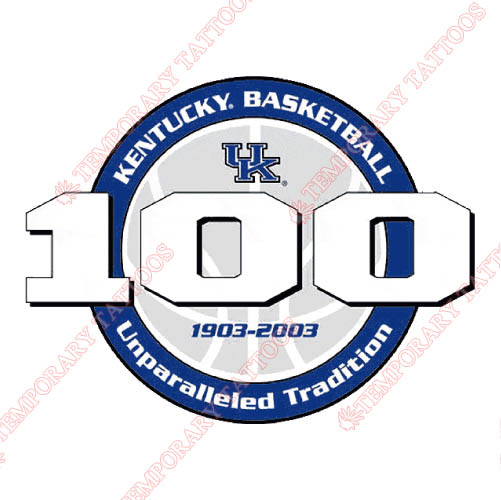 Kentucky Wildcats Customize Temporary Tattoos Stickers NO.4745