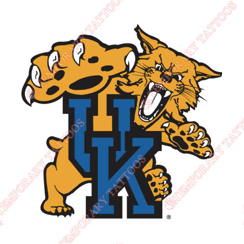 Kentucky Wildcats Customize Temporary Tattoos Stickers NO.4747