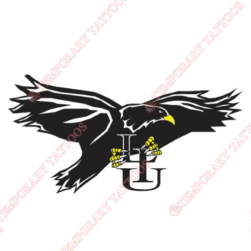 LIU Brooklyn Blackbirds Customize Temporary Tattoos Stickers NO.4803