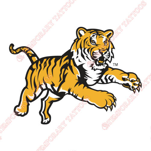 LSU Tigers Customize Temporary Tattoos Stickers NO.4922