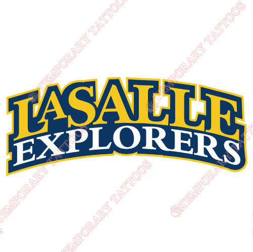 La Salle Explorers Customize Temporary Tattoos Stickers NO.4751