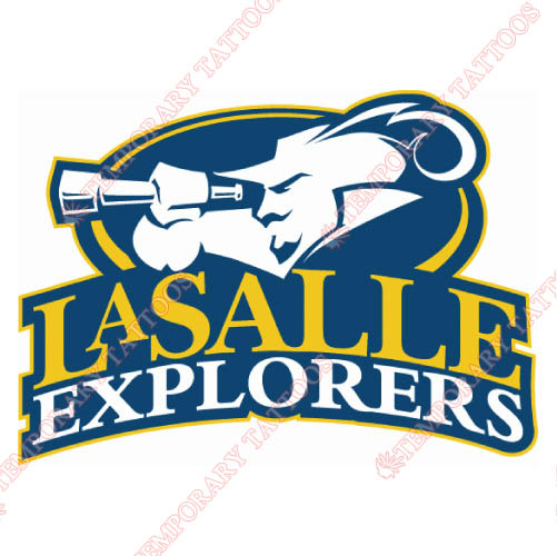 La Salle Explorers Customize Temporary Tattoos Stickers NO.4752