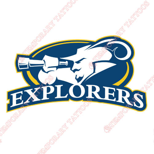 La Salle Explorers Customize Temporary Tattoos Stickers NO.4753
