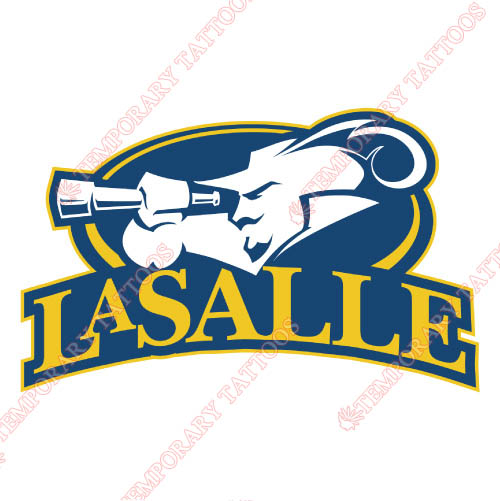 La Salle Explorers Customize Temporary Tattoos Stickers NO.4755