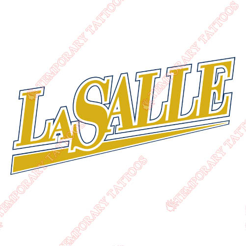 La Salle Explorers Customize Temporary Tattoos Stickers NO.4758