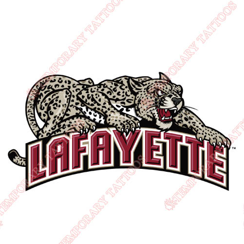 Lafayette Leopards Customize Temporary Tattoos Stickers NO.4761