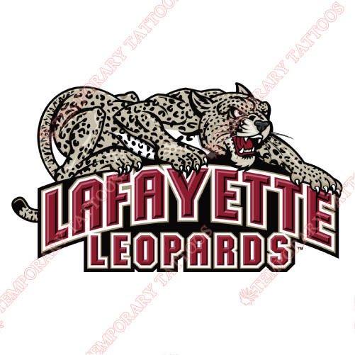 Lafayette Leopards Customize Temporary Tattoos Stickers NO.4766