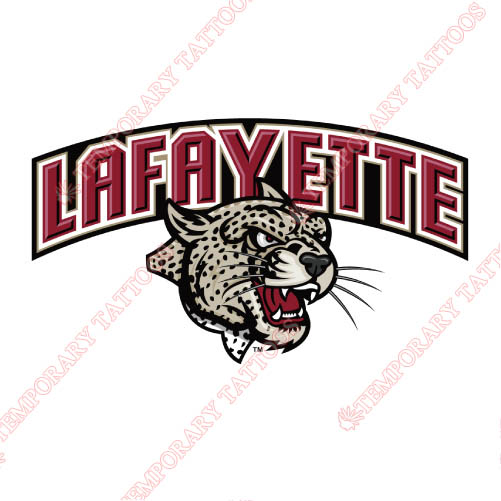Lafayette Leopards Customize Temporary Tattoos Stickers NO.4768