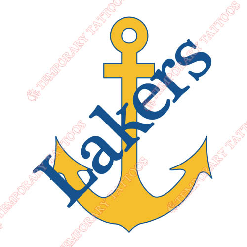 Lake Superior State Lakers Customize Temporary Tattoos Stickers NO.4771