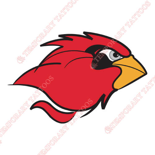 Lamar Cardinals Customize Temporary Tattoos Stickers NO.4772