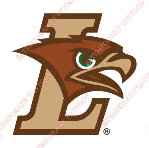 Lehigh Mountain Hawks Customize Temporary Tattoos Stickers NO.4779