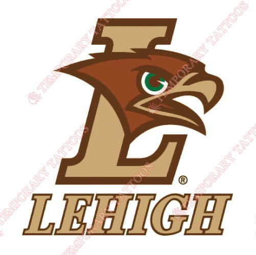 Lehigh Mountain Hawks Customize Temporary Tattoos Stickers NO.4781