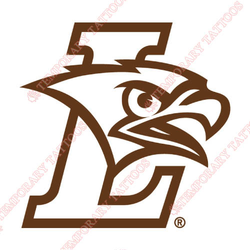 Lehigh Mountain Hawks Customize Temporary Tattoos Stickers NO.4783