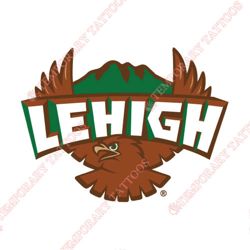 Lehigh Mountain Hawks Customize Temporary Tattoos Stickers NO.4785