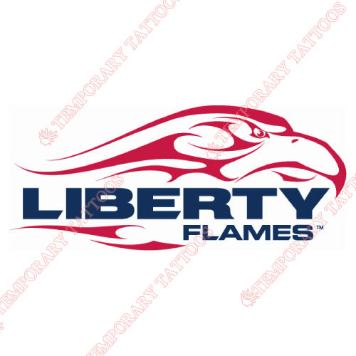 Liberty Flames Customize Temporary Tattoos Stickers NO.4786