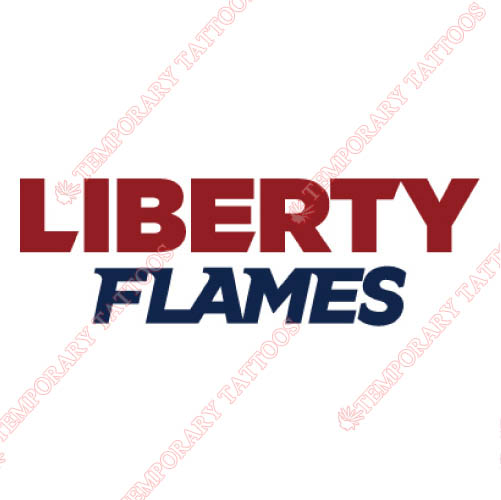 Liberty Flames Customize Temporary Tattoos Stickers NO.4788