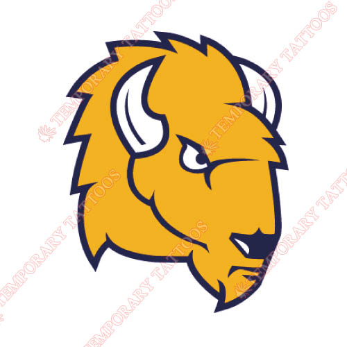 Lipscomb Bisons Customize Temporary Tattoos Stickers NO.4792