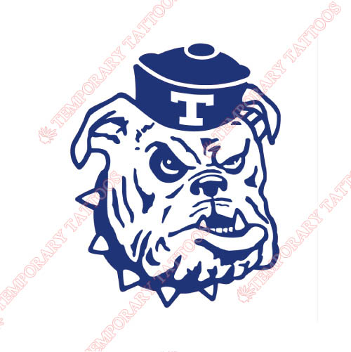 Louisiana Tech Bulldogs Customize Temporary Tattoos Stickers NO.4858