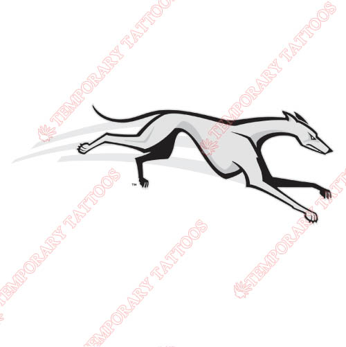 Loyola Maryland Greyhounds Customize Temporary Tattoos Stickers NO.4888