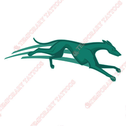 Loyola Maryland Greyhounds Customize Temporary Tattoos Stickers NO.4889