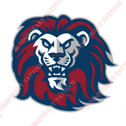 Loyola Marymount Lions Customize Temporary Tattoos Stickers NO.4892