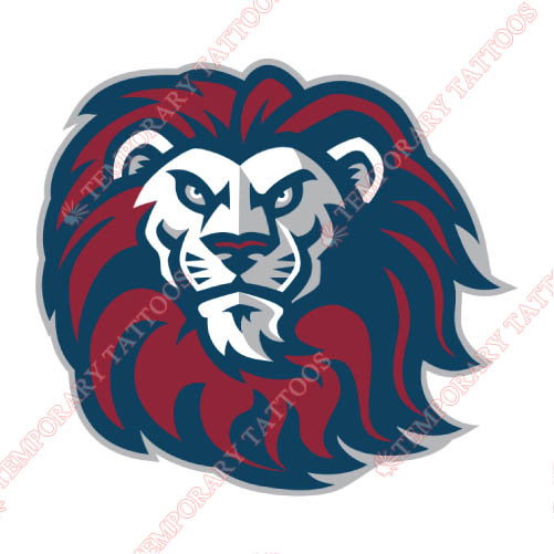 Loyola Marymount Lions Customize Temporary Tattoos Stickers NO.4903
