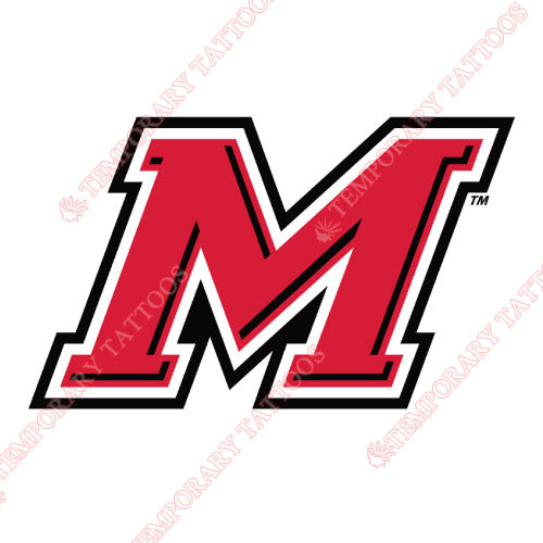 Marist Red Foxes Customize Temporary Tattoos Stickers NO.4949