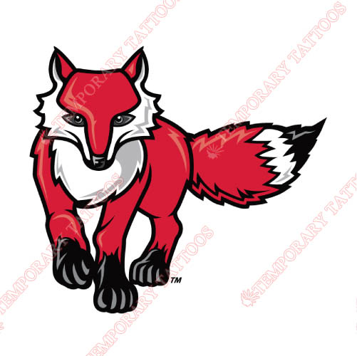 Marist Red Foxes Customize Temporary Tattoos Stickers NO.4952