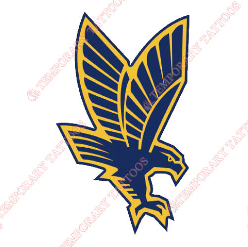 Marquette Golden Eagles Customize Temporary Tattoos Stickers NO.4964
