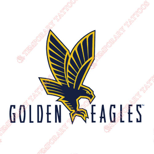 Marquette Golden Eagles Customize Temporary Tattoos Stickers NO.4967