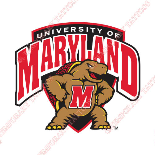 Maryland Terrapins Customize Temporary Tattoos Stickers NO.4991