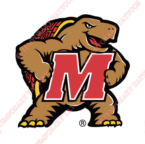 Maryland Terrapins Customize Temporary Tattoos Stickers NO.4992