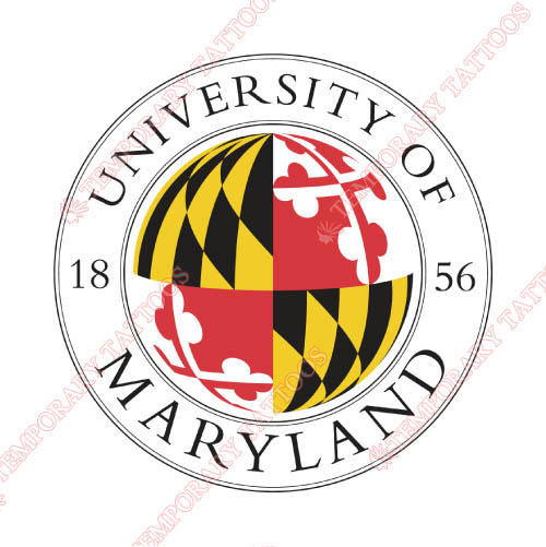 Maryland Terrapins Customize Temporary Tattoos Stickers NO.4993