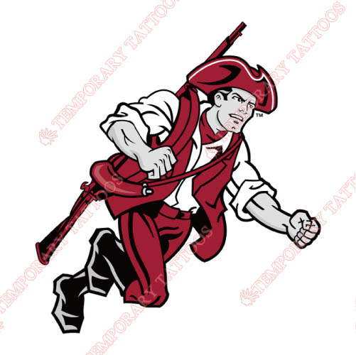 Massachusetts Minutemen Customize Temporary Tattoos Stickers NO.5004