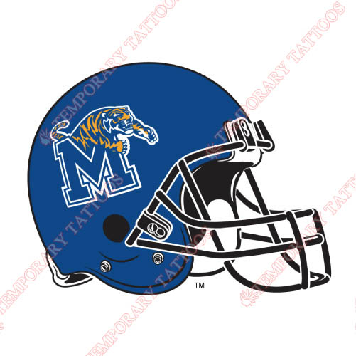 Memphis Tigers Customize Temporary Tattoos Stickers NO.5019