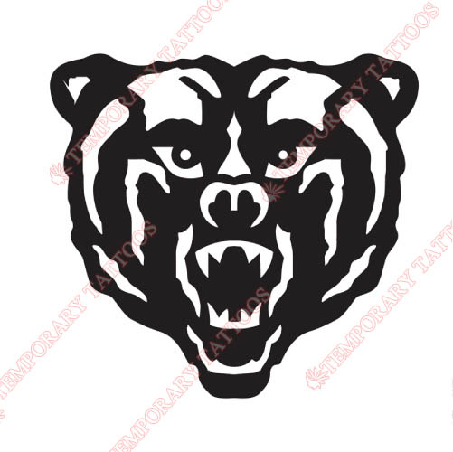 Mercer Bears Customize Temporary Tattoos Stickers NO.5024