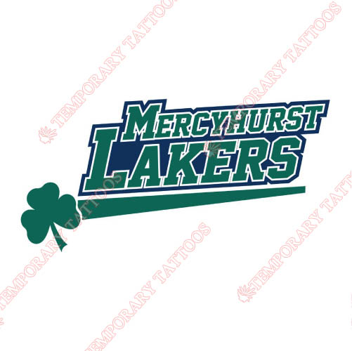 Mercyhurst Lakers Customize Temporary Tattoos Stickers NO.5026