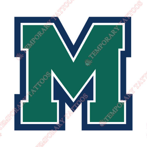 Mercyhurst Lakers Customize Temporary Tattoos Stickers NO.5028