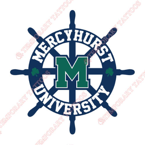 Mercyhurst Lakers Customize Temporary Tattoos Stickers NO.5030