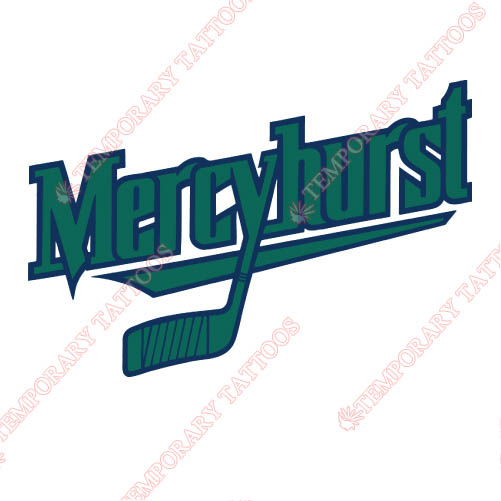 Mercyhurst Lakers Customize Temporary Tattoos Stickers NO.5031