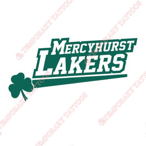 Mercyhurst Lakers Customize Temporary Tattoos Stickers NO.5032