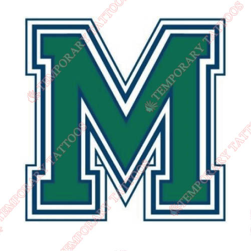 Mercyhurst Lakers Customize Temporary Tattoos Stickers NO.5033