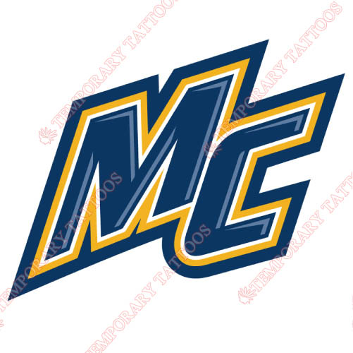 Merrimack Warriors Customize Temporary Tattoos Stickers NO.5036