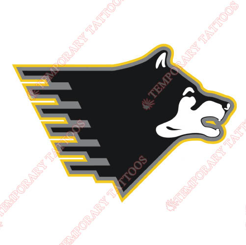 Michigan Tech Huskies Customize Temporary Tattoos Stickers NO.5064