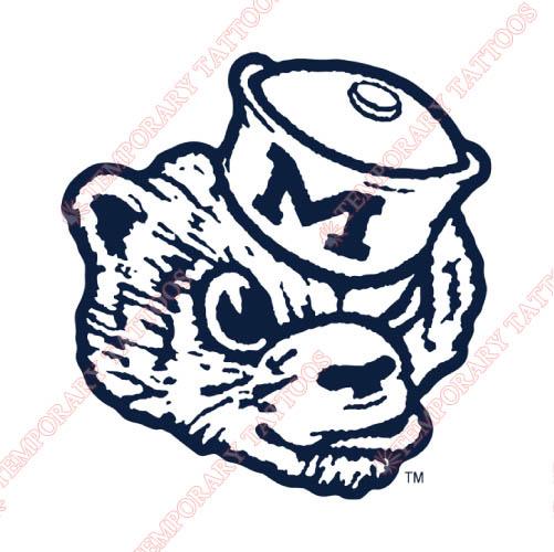 Michigan Wolverines Temp Tattoos : Customize Temporary Tattoos,Kids ...