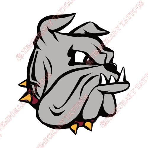 Minnesota Duluth Bulldogs Customize Temporary Tattoos Stickers NO.5088